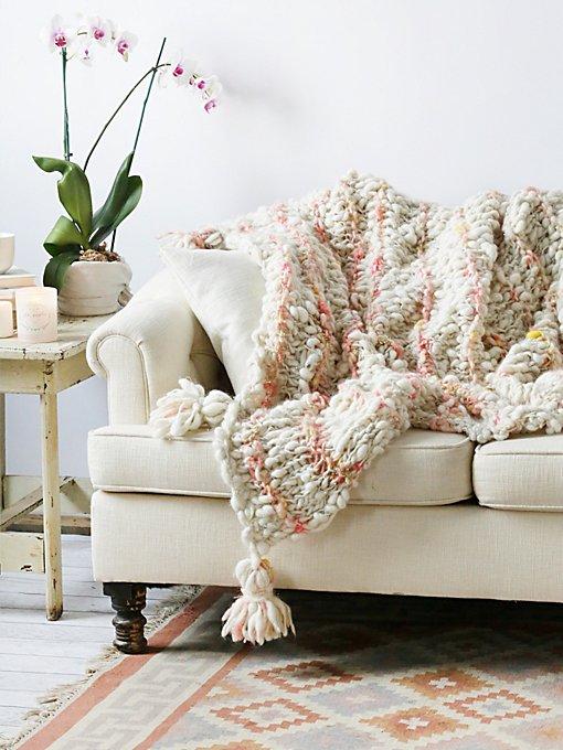 FP Chunky Wool Blanket