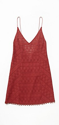 Pollyanna Crochet Lace Slip