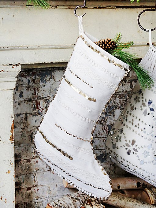 Castine Tassel Stocking