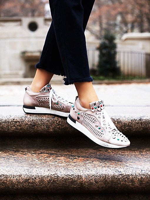 Orbit Embellished Sneaker