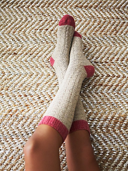 Valley Cable Knee Sock