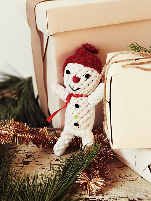 Scott the Snowman Dog Toy