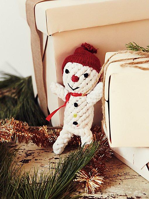 Scott the Snowman Dog Toy