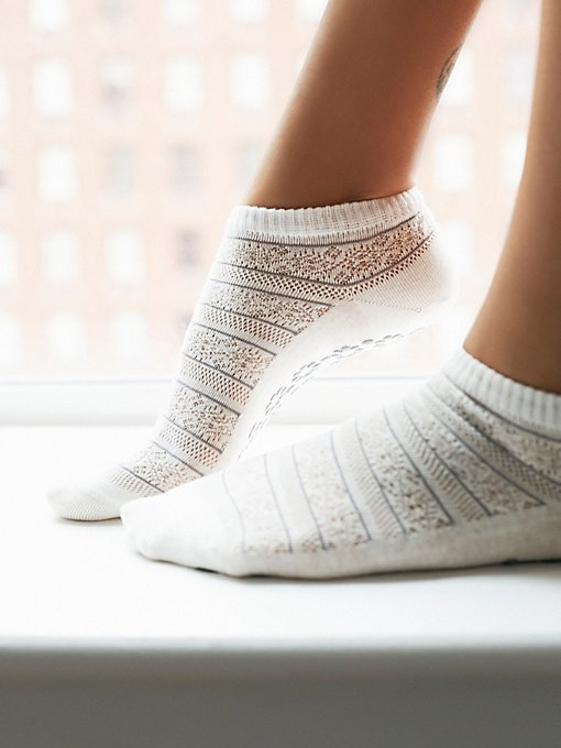 Crochet Yoga Sock