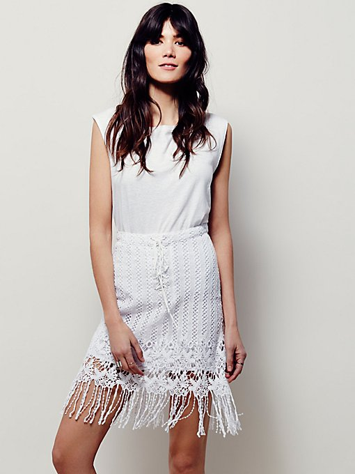 Cool Girl Lace Skirt