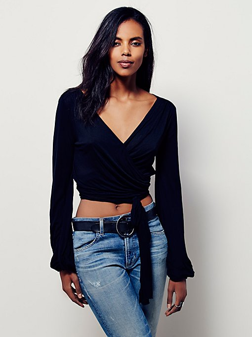 Fever Dream Wrap Top