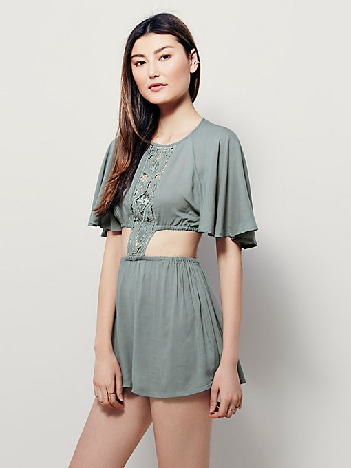 Ask Me Out Romper