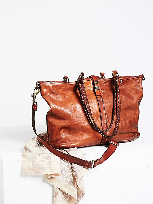 Naples Distressed Tote