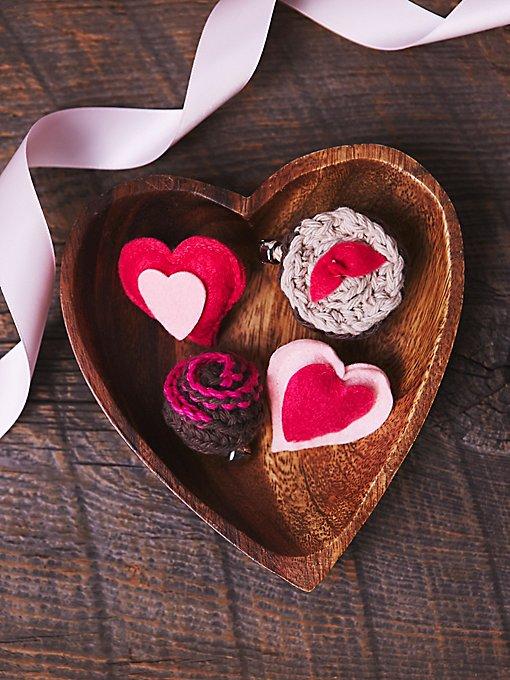 Valentine Catnip Truffle Toys