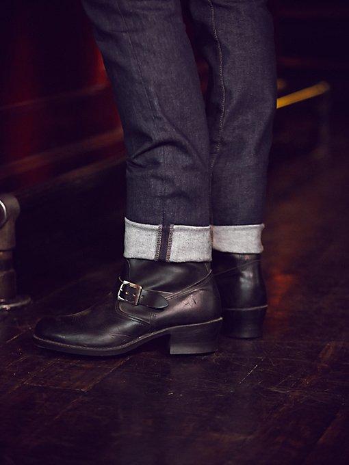 Vintage Men's Frye Moto Boots