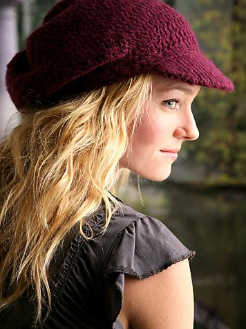 Knit Slouch Cabbie