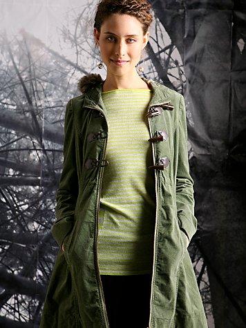 Willow Wisp Fur Hooded Cloak