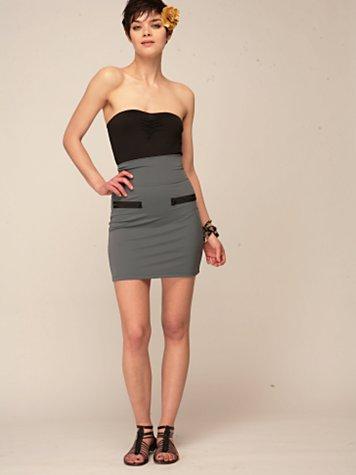 LnA Zipper Mini Skirt